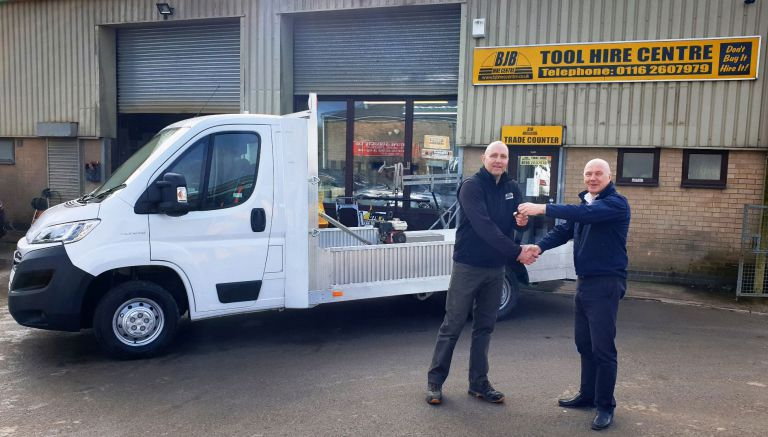 BJB-Tool-Hire-New-Vehicle-Delivery
