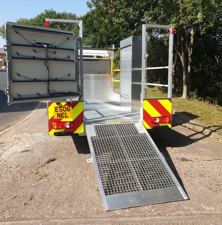 3.5 ton Low Floor Traffic Management Vehicle