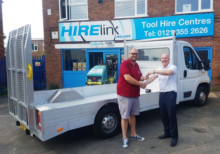Handover-Hirelink-Vehicle
