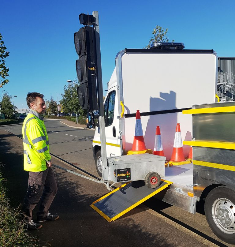 3.5 ton Low Floor Traffic Management Vehicle